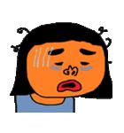たくさんの顔(女の子)(個別スタンプ:32)
