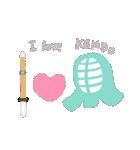 剣道女子&剣道応援ママのスタンプ(個別スタンプ:39)