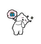 すこぶる動くちびウサギ&クマ【愛】(個別スタンプ:16)