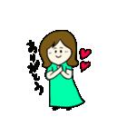 女の子とトイプの可愛いスタンプ(個別スタンプ:19)