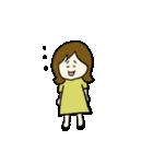 女の子とトイプの可愛いスタンプ(個別スタンプ:20)