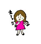 女の子とトイプの可愛いスタンプ(個別スタンプ:21)