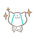 落ち込みがちな薄い猫(個別スタンプ:09)