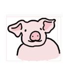 俺の豚の友達ドニー(個別スタンプ:01)