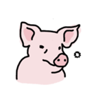 俺の豚の友達ドニー(個別スタンプ:02)