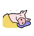 俺の豚の友達ドニー(個別スタンプ:03)