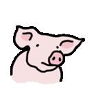 俺の豚の友達ドニー(個別スタンプ:07)