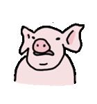 俺の豚の友達ドニー(個別スタンプ:11)