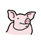 俺の豚の友達ドニー(個別スタンプ:12)