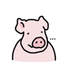 俺の豚の友達ドニー(個別スタンプ:14)