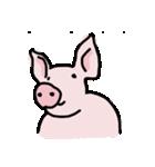 俺の豚の友達ドニー(個別スタンプ:17)