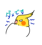 オカメインコとバードたち(個別スタンプ:02)