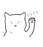もっちり白猫の可愛い使いやすいスタンプ(個別スタンプ:29)