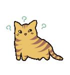 キジトラ猫の毎日使いやすいスタンプ(個別スタンプ:07)