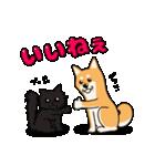 柴犬と4匹の先住猫スタンプ(個別スタンプ:15)