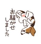 あほいぬみかん【敬語】(個別スタンプ:14)