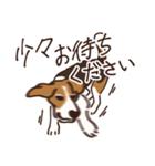 あほいぬみかん【敬語】(個別スタンプ:21)