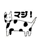 【ヘタカワ動物】毎日使うスタンプ40個(個別スタンプ:03)
