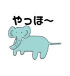 【ヘタカワ動物】毎日使うスタンプ40個(個別スタンプ:27)