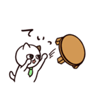 猫のサヨさん【社会人は辛い編】(個別スタンプ:15)