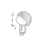 ちょっとおませなさっちゃん(個別スタンプ:01)