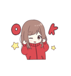 ジャージちゃん3(うごく)(個別スタンプ:01)
