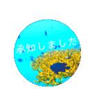 sea world3♡[日本語敬語](個別スタンプ:07)