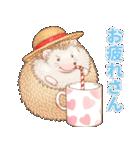 ハリネズミ団子 関西弁(個別スタンプ:10)