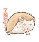 ハリネズミ団子 関西弁(個別スタンプ:20)