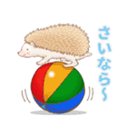 ハリネズミ団子 関西弁(個別スタンプ:40)