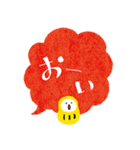 ふきだしデカ文字ダルマ添え【日常】(個別スタンプ:26)