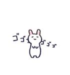 無難にかわいいウサギさんのスタンプ(個別スタンプ:05)