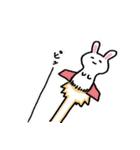 無難にかわいいウサギさんのスタンプ(個別スタンプ:09)