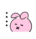 無難にかわいいウサギさんのスタンプ(個別スタンプ:18)