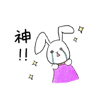 このゆびスタンプ キュート編(個別スタンプ:09)
