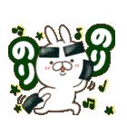 毎日つかえる デカ文字ダジャレ(うさ坊)(個別スタンプ:40)