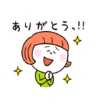 もじゃくんとお友達(個別スタンプ:02)