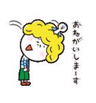 もじゃくんとお友達(個別スタンプ:08)