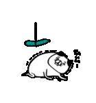 弱いタイプの猫 動く(個別スタンプ:20)