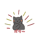 福猫のポジティブな言葉スタンプ(個別スタンプ:33)