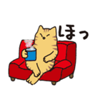 茶トラ猫の使いやすい可愛いスタンプ(個別スタンプ:12)