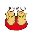 茶トラ猫の使いやすい可愛いスタンプ(個別スタンプ:18)