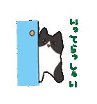 ハチワレ猫の使いやすいかわいいスタンプ(個別スタンプ:11)