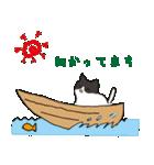 ハチワレ猫の使いやすいかわいいスタンプ(個別スタンプ:27)