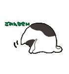 ハチワレ猫の使いやすいかわいいスタンプ(個別スタンプ:32)