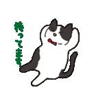 ハチワレ猫の使いやすいかわいいスタンプ(個別スタンプ:35)