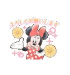 ミニーマウス(かわいく敬語)(個別スタンプ:09)