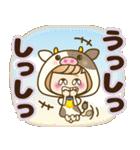 おかっぱ女子【ダジャレ】(個別スタンプ:22)