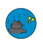 黒猫ちまきのよく使う一言スタンプ(個別スタンプ:31)
