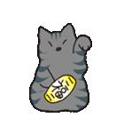 サバトラ猫の毎日使いやすいスタンプ(個別スタンプ:26)